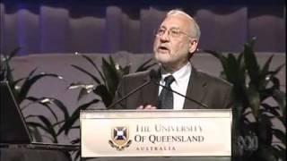 Joseph Stiglitz Who Sank The Global Economy Part 3