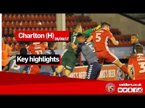 MATCH HIGHLIGHTS | Walsall 2-2 Charlton Athletic