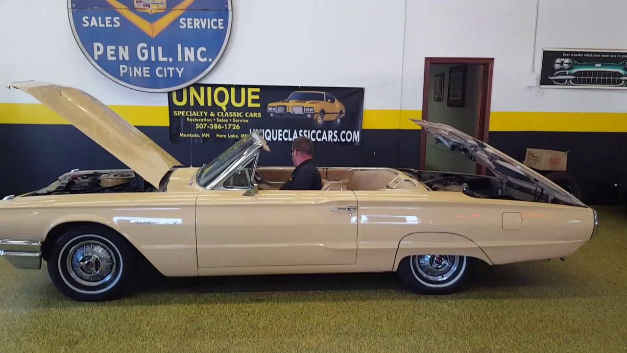 1964 Ford Thunderbird convertible for sale - YouTube