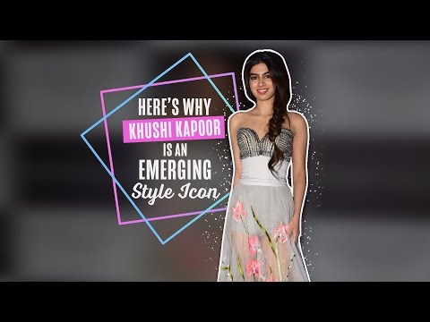 Here's Why Khushi Kapoor is an Emerging Style Icon   Bollywood thumbnail