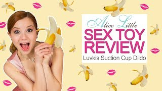 """Luvkis 8"""" Dildo - Sex Toy Review with Alice Little"""