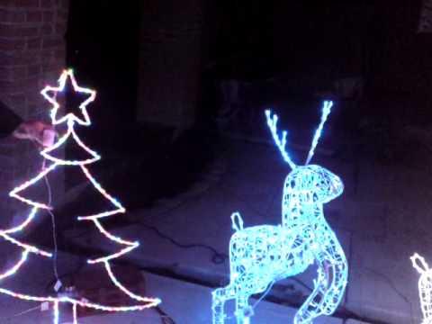 Figuras navide as de herrer a youtube for Figuras de nieve navidenas