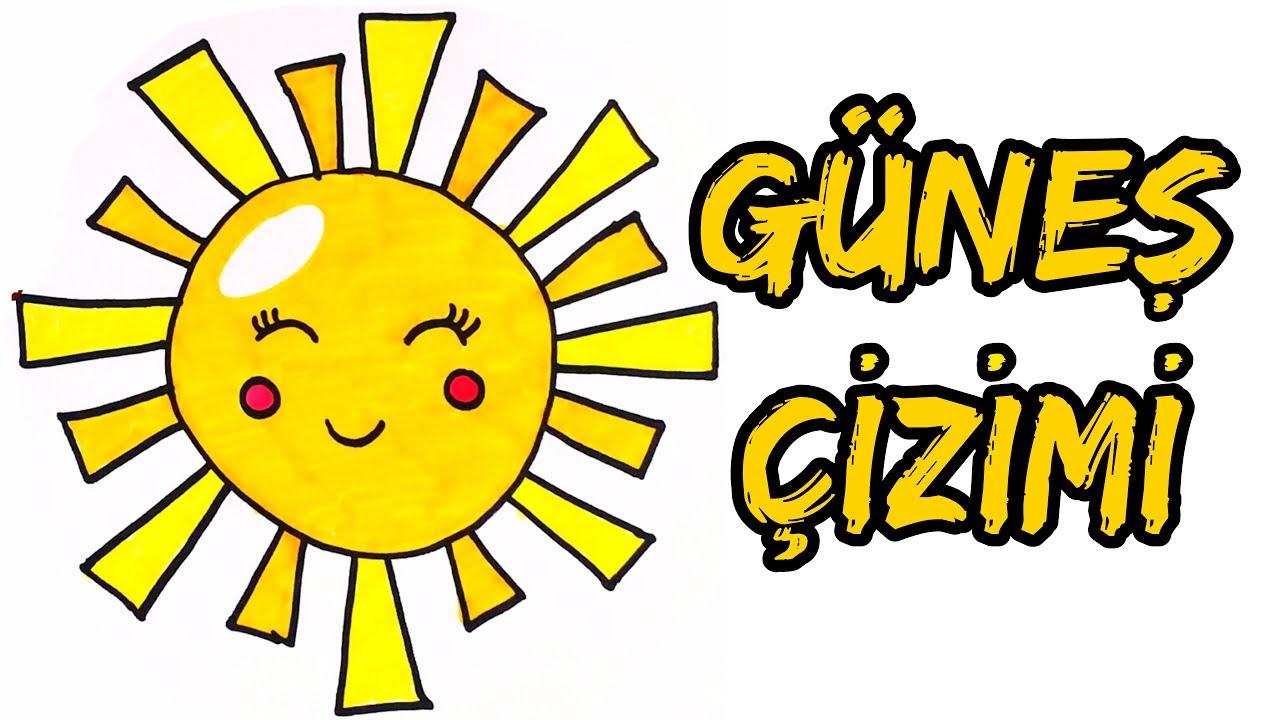 Gunes Nasil Cizilir Gunes Cizimi How To Draw Sun Renkli Dunyam