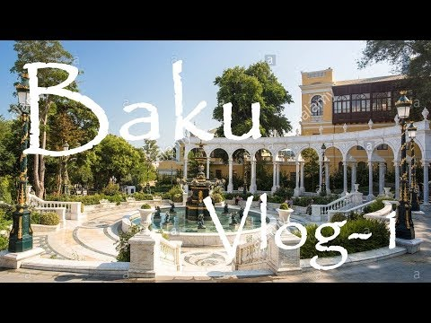 Baku - City Tour - Iceri Şeher Metro - Azneft Square - Philharmonic Garden - Azerbaijan - VLOG-1