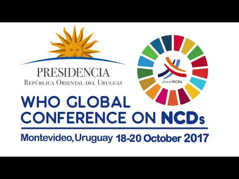 WHO Global Conference on Noncommunicable Diseases - Message from Minister of Health, Sri Lanka