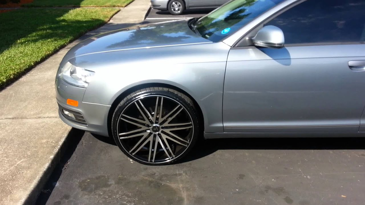 audi a6 on 22s youtube