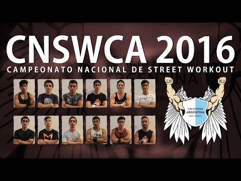 Campeonato Nacional de Street Workout organizado por Calistenia Argentina