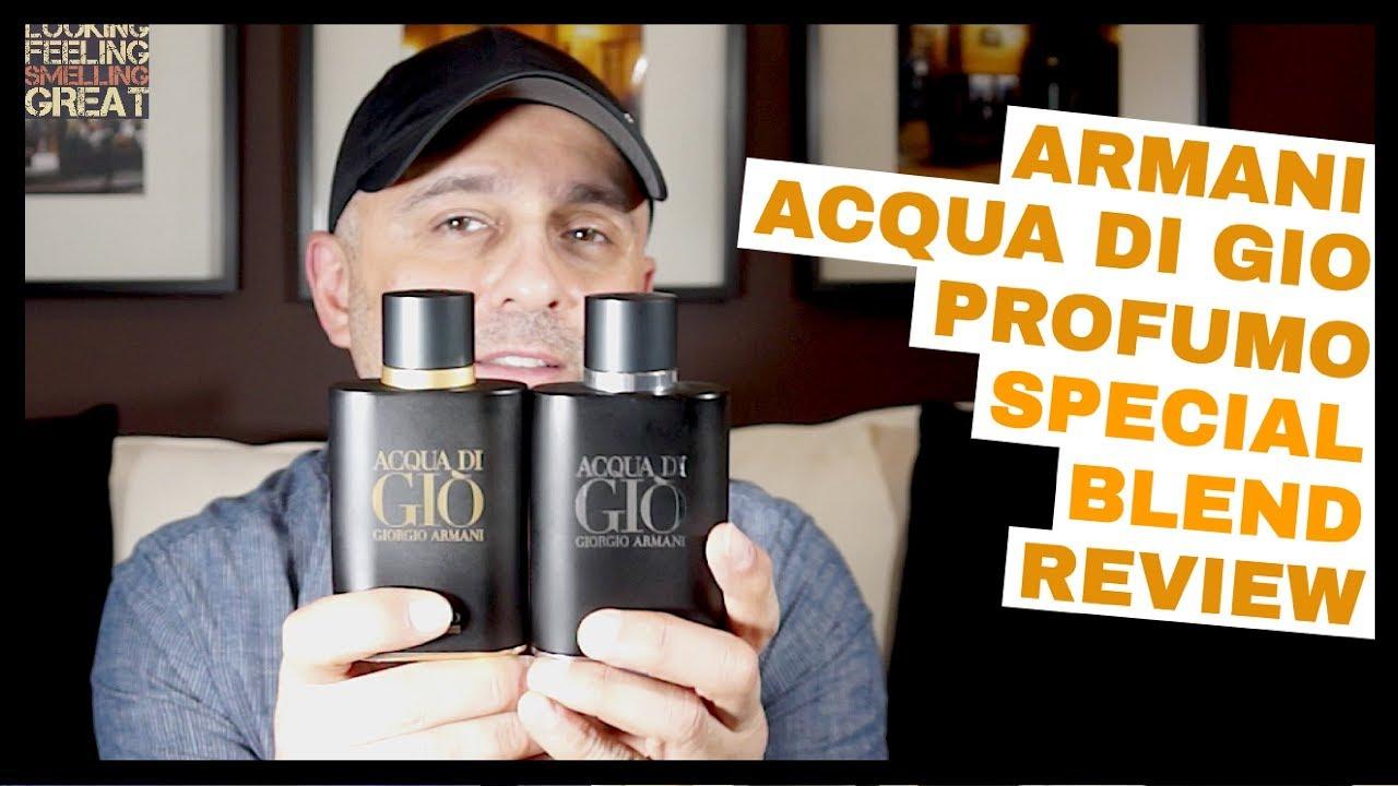 Armani Acqua Di Gio Profumo Special Blend Review 5ml Decant