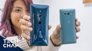 Sony Xperia XZ2 Hands-On Review - Better than Galaxy S9? | The Tech Chap