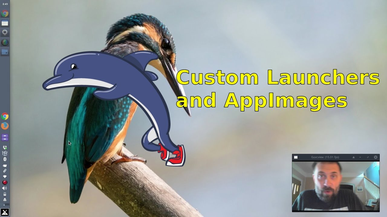 Custom Application Launchers and Appimages