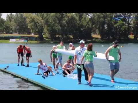 2017 ECA Junior and U23 Canoe Sprint European Championships, Belgrade, Serbia