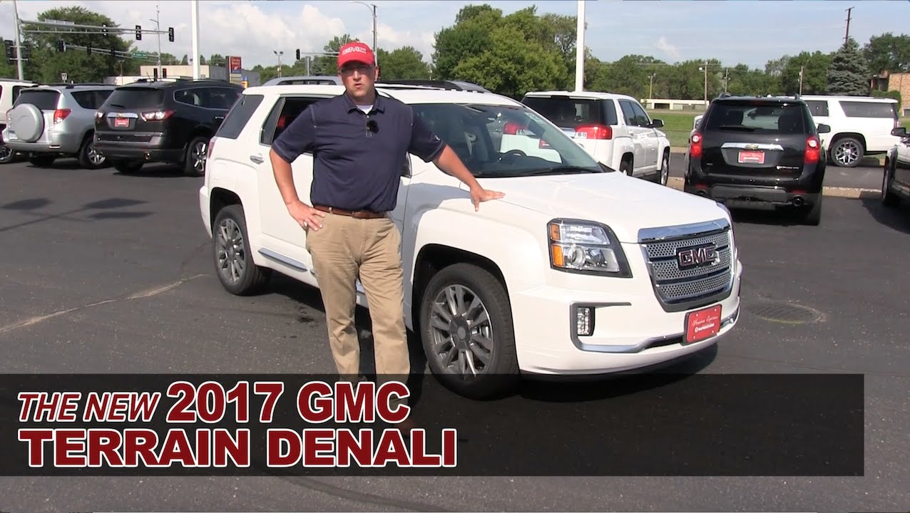 New 2017 Gmc Terrain Denali White Bear Lake St Paul Mpls Hastings Roseville Mn Review