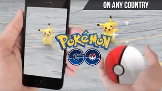 Download Pokemon Go on India and other countries on Android! [How to]