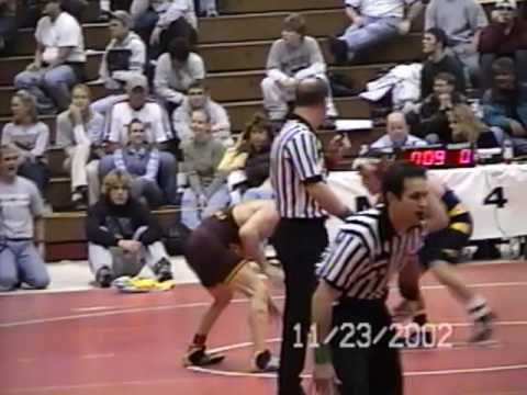 2002 UNO Open 3rd place match vs Mike Simpson Arizona State