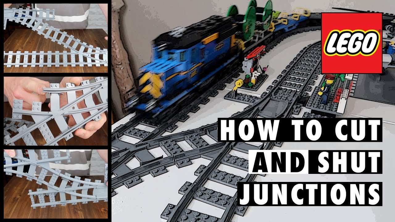 How To Hack Lego City Train Junctions For Short Crossovers Gjbricks