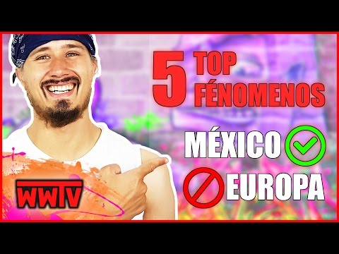 TOP 5 fenómenos de México que NO hay en Europa ?! │ Curiosidades de México & Alemania │ WeroWeroTV