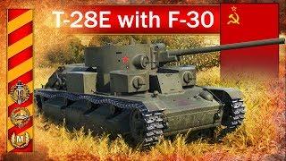 T-28E with F-30 - fragowanie na całego :) - World of Tanks