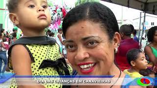 Dia das crianças em Canavieiras