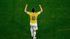 JAMES RODRIGUEZ Top 10 goals of his career