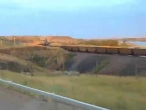 NORTH DAKOTA FREIGHT TRAIN