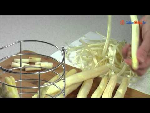 Download Youtube: Jak obierać i gotować białe szparagi - TalerzPokus.tv