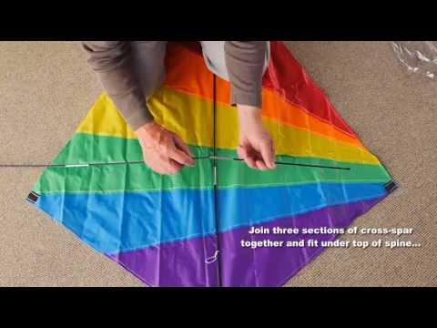 AGreatLife Diamond Kite Assembly Instructions Amazon Best Selling Kite For Kids