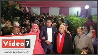 عم حارس يحتفل بزفاف ابنته الليله فى حضور نجوم الأهلى
