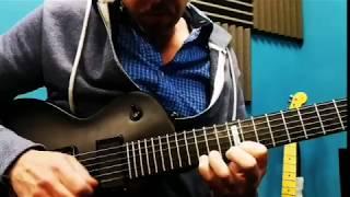 LTD Gitarra berria frogatzen (improvisation by Shanti Basauri)