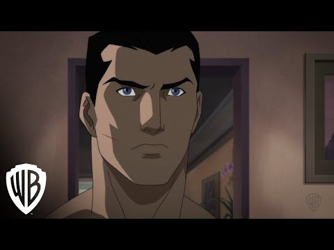 "Justice League Dark - clip - ""Bruce Wayne Shaves"""