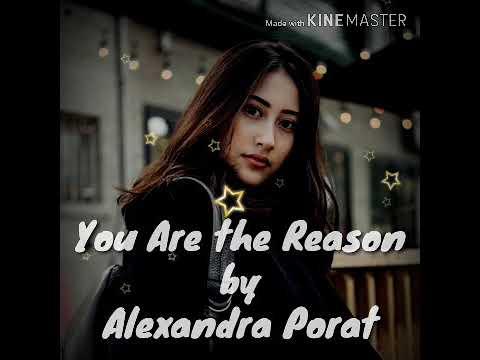 You Are The Reason-Calum Scott Cover By Alexandra Porat (Lirik)