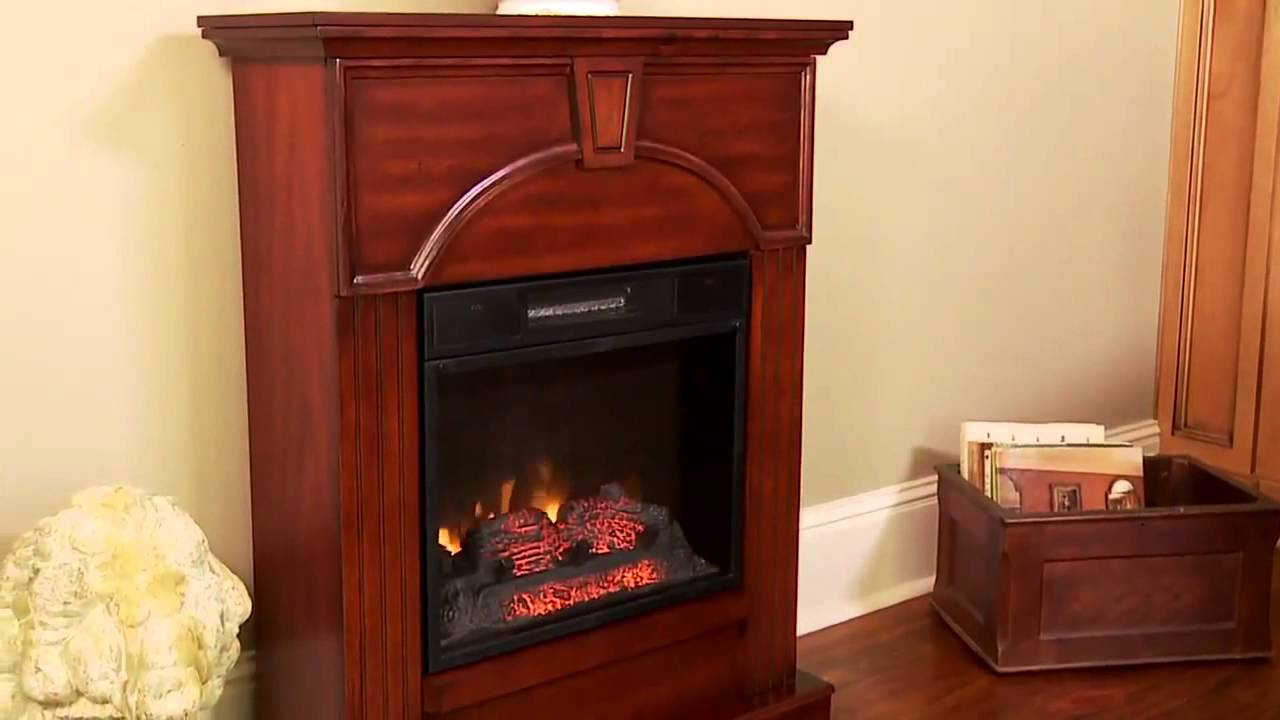 http://ElectricFireplacesDirect.com - Our ChimneyFree Electric Fireplace Mantel Packages offer the instant ambiance and warmth of a fire surrounded by award ...