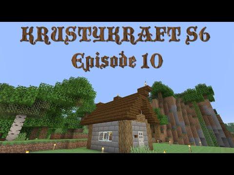 Let's Play KRUSTYKRAFT S6 Minecraft PS4 The Villager Breeder! (10) #Roadto1000