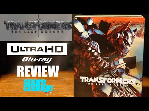 Transformers The Last Knight 4K 3D Bluray Review and Steelbook Unboxing, Atmos