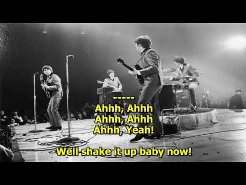 Twist and Shout (High Quality) - (HD Karaoke) The Beatles