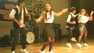 Nepali modern dance (Trishuli Bagera Marshyangdima Jharera )