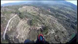 Parapente en Pedro Bernardo (Ávila). 2013.01.26 Paragliding at Avila (Spain)