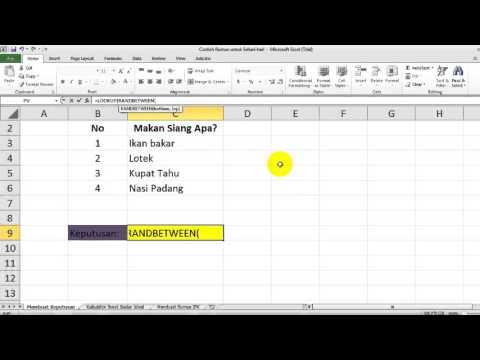 Cara Menjumlahkan Waktu (Jam, Menit dan Detik) di ms Excel dengan Fungsi Time()