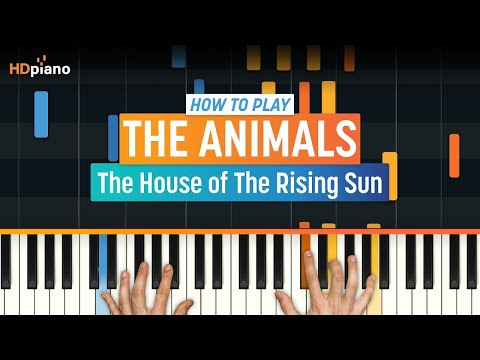 """How To Play """"The House of The Rising Sun"""" by The Animals 