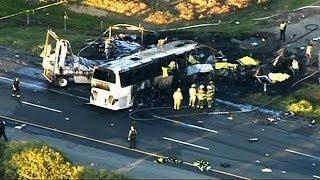 كاليفورنيا:مقتل9 أشخاص في حادث سير مروع