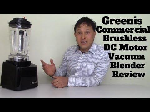 Greens Commercial DC Vacuum Blender FGR-8800 Review Comparison