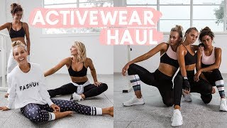 Newly created outfit video from Sarahs Day: Try On Haul!! I Designed My Own Activewear Line! SARAH'S DAY X WFA