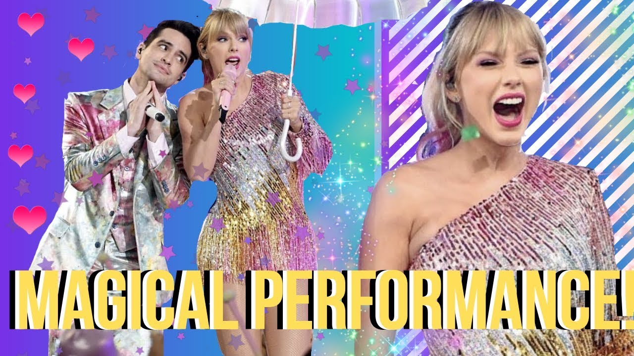 Download Taylor Swift & Brendon Urie Perform ME! LIVE At The #BBMAs 2019