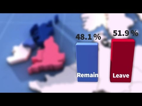 Brexit - how Britain voted