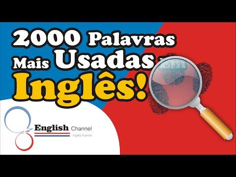 2000 Palavras Mais Usadas Em Ingês #5 - English Channel ✔