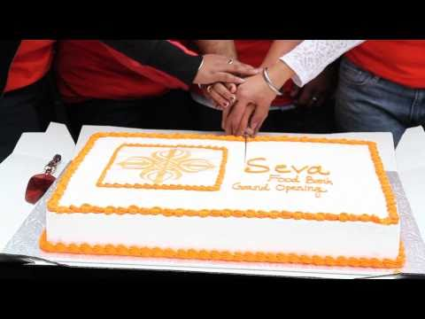 Coverage of Seva Food Bank's Grand Opening