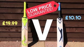 How Long Does a £20 Cricket Bat Last? (The Challenge) Ep.1