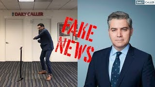 CNN's Jim Acosta Goes FAKE NEWS On Daily Caller White House Correspondent