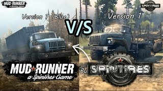 Mudrunner Vs Spintires Vehicles Comparison