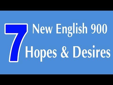 Iskazivanje nada i želja na engleskom