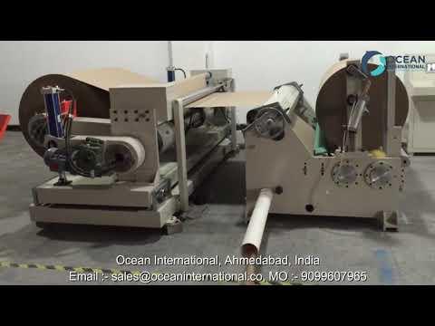 Jumbo Slitting Rewinding Machine Manufacturer in Ahmedabad